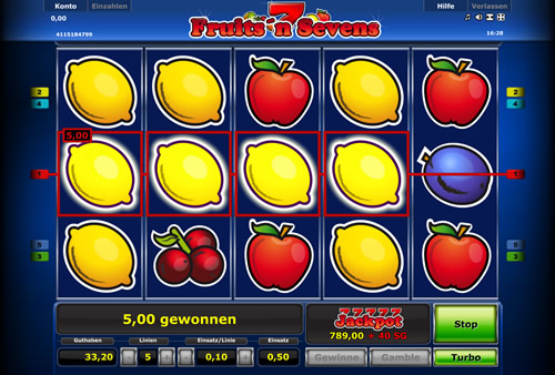 Fruits-n-Sevens Online